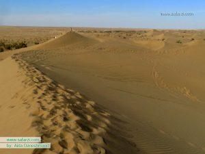 رمل های زیبای کویر مصر