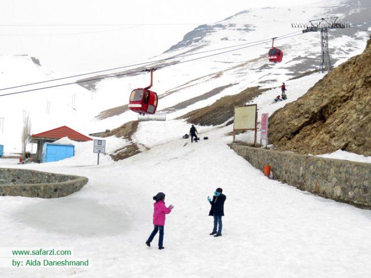 تلهکابینتوچال:فرصتی برای واپسین روزهای زمستان