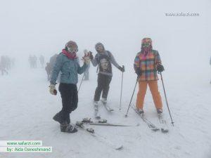 Tochal.ski snow.Tehran