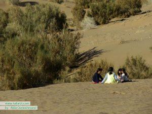 هوای بچگی در کویر مصر