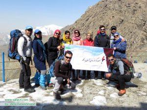 کوهپیمایان منطقه کلکچال
