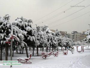 بارش برف-تهران