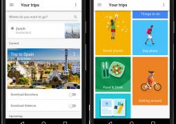 دانلود برنامه Google Trips گوگل تریپس