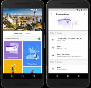 معرفی و دانلود برنامه Google Trips گوگل تریپس