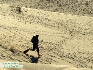 هیجان بر تل ماسه های کویر مصر