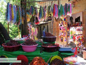 سوغاتی های رنگارنگ روستای ماسوله