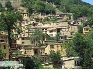 نمایی زیبا از روستای تاریخی ماسوله