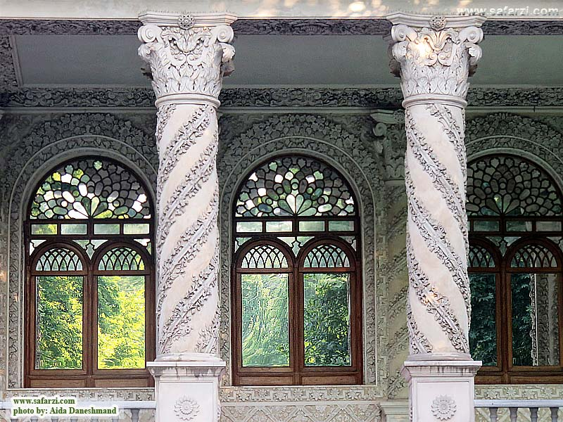 گچبریهای عمارت باغ فردوس